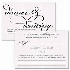 reception and rsvp cards the diy wedding