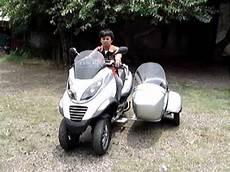 piaggio mp3 with sidecar