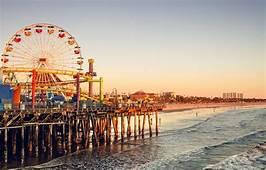 Wallpaper Wave Beach The Sky Sunset People CA Ferris
