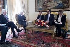 presidente della dei deputati e senato il presidente sergio mattarella con i gruppi quot movimento 5