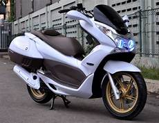 Modifikasi Honda Pcx by Foto Gambar Modifikasi Spesification Honda Pcx Minimalis New