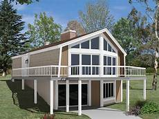 a frame house plans with walkout basement skyliner a frame vacation home a home designed for