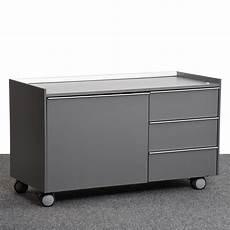 Bene Caddy Rollcontainer Sideboard Grau Silber Fl 252 Gelt 252 R