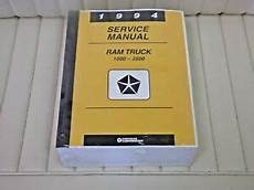 auto repair manual online 1994 dodge ram 1500 electronic toll collection 1994 dodge ram truck shop service manual 1500 3500 new includes diesel ebay