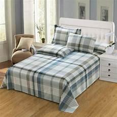 aliexpress com buy 100 cotton soft flat sheet queen king size bed sheet single