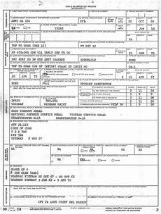 dd form 214 certificate of release or discharge from
