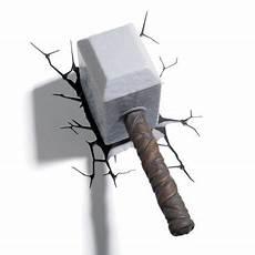 buy philips marvel avengers thor hammer 3d led wall light