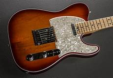 American Elite Telecaster Aged Cherry Burst W Maple