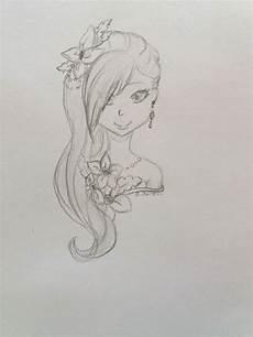 Bilder Zum Nachzeichnen Leicht Animegirl Zeichnen Leicht Zeichnungen Zeichnen
