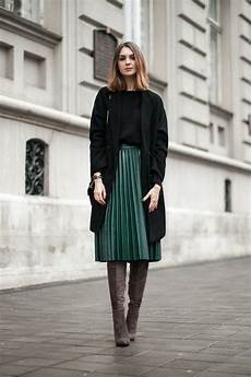 comment porter la jupe longue pliss 233 e 80 id 233 es jupe