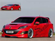 story of car modification in worldwide mazda 3 modified