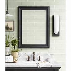 bathroom mirror wood traditional 24 quot x 32 quot solid wood framed bathroom mirror in