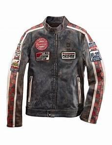 blauer usa lederjacke quot rembler quot leather jacket