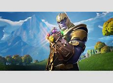 Thanos In Fortnite Battle Royale, HD Games, 4k Wallpapers
