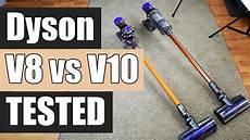 dyson v8 test dyson v8 vs dyson v10 detailed tests and comparison