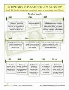 history of money money worksheets social studies worksheets worksheets