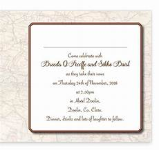 What To Put Inside Wedding Invitations