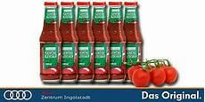 6 flaschen original volkswagen vw gew 252 rz ketchup curry