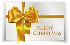 golden yellow bow merry christmas card royalty free stock image image 27337786