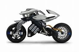 Yamahas Futuristic Motoroid Motorcycle Concept  HYPEBEAST
