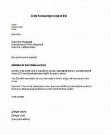 free 45 acknowledgement letter exles sles in pdf
