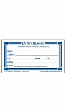 wholesale contest entry form cards for retail store supply warehouse