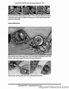 honda crf100f wiring diagram honda crf80f crf100f xr80r xr100r cyclepedia printed service manual ebay