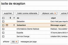 Affecter Une Priorit 233 224 Un Message Dans La Messagerie Orange