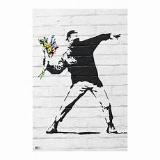 Poster Kaufen - banksy poster throwing flowers posters buy now in the