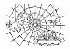 Malvorlagen Spinnennetz Ausmalbilder K 252 Rbis Gespenster Hexen