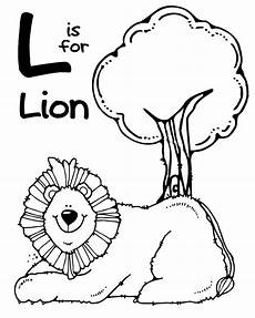 animals coloring pages for preschoolers 16870 we being letter l