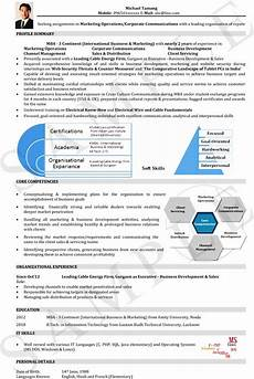visual resume format for freshers and experienced naukri com