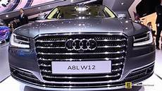 2016 audi a8 w12 exterior and interior walkaround 2015