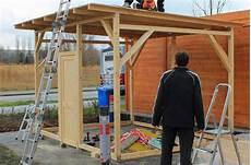 holzschuppen bauen anleitung hausbau christian und jeannette mit der firma deko