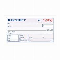 2 part carbonless money rent receipt book walmart com