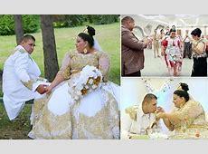Slovakian teen bride wears £175k dress during 4 day