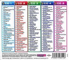 Liste Musique Année 90 Hits 80 Marc Toesca Salut Les P Clous 5 Cd 100