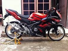 Rr Modif Simple by Kawasaki 150 Rr Velg Jari Jari Modif Simpel Modif