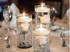 vase bougie flottante grande bougie flottante 8cm blanche bougies d 233 coratives