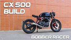 Honda Cx500 Cafe Racer Build Time Lapse