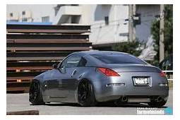 Lowered Matte White 350z  Cars