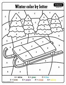 color by number winter coloring sheets 18159 winter color by number and color by letter pages preschool printables kindergarten colors
