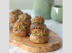 clam stuffed mushrooms_image
