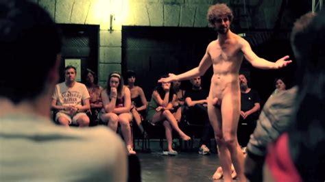 Men Naked On Stage