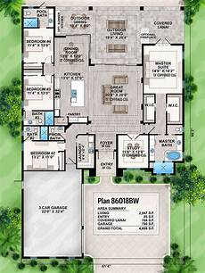 floridian house plans striking florida house plan 86018bw architectural