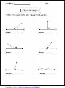 euclidean geometry worksheets 695 supplementary angles classroom madness activities geometry and math