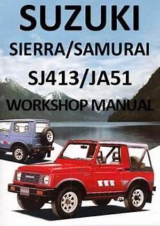 old cars and repair manuals free 1984 suzuki sj 410 on board diagnostic system suzuki sierra sj413 samurai jas51 1984 1990 workshop manual suzuki cars suzuki jimny