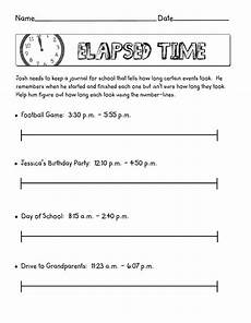 elapsed time worksheets 4th grade 3343 elapsed time scribd time worksheets elapsed time worksheets math time