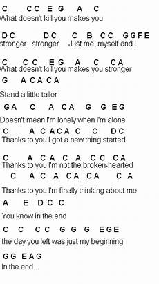 flute sheet music what doesn t kill you stronger