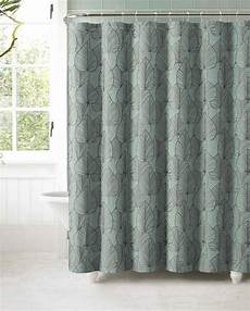 Blue And Grey Shower Curtain